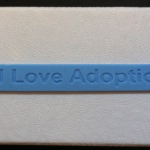 I Love Adoption Braceclet